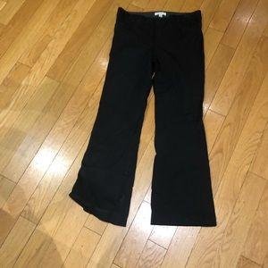 Banana republic black dress pants size 10 women's